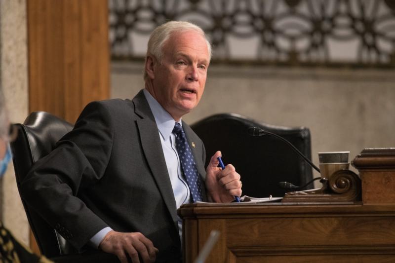 Sen. Johnson at hearing