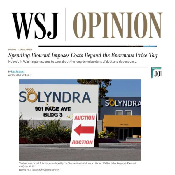 Wall Street Journal Headline