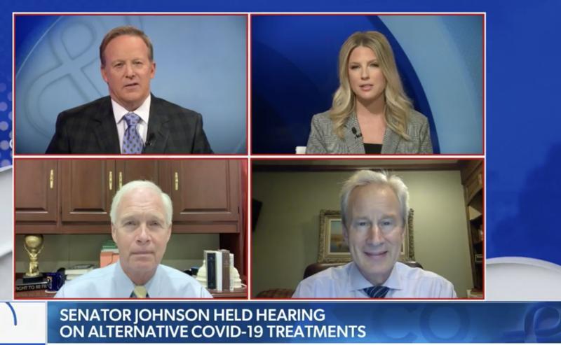 Senator Johnson on Newsmax